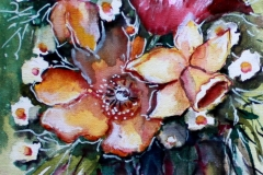 Frühling Aquarell 20x 50