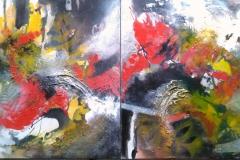 Komposition in Rot-Schwarz