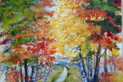 Herbst-im-Allgaeu-Aquarell-auf-Leinwand-50-x-60