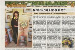 Malerin aus Leidenschaft Wir in Waltenhofen
