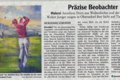 Präzise Beobachter Ausstellung Hotel Frank Oberstdorf