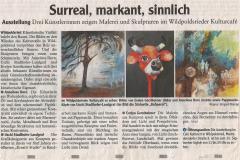 Surreal, markant, sinnlich Ausstellung Wildpoldsried 7-9 2019